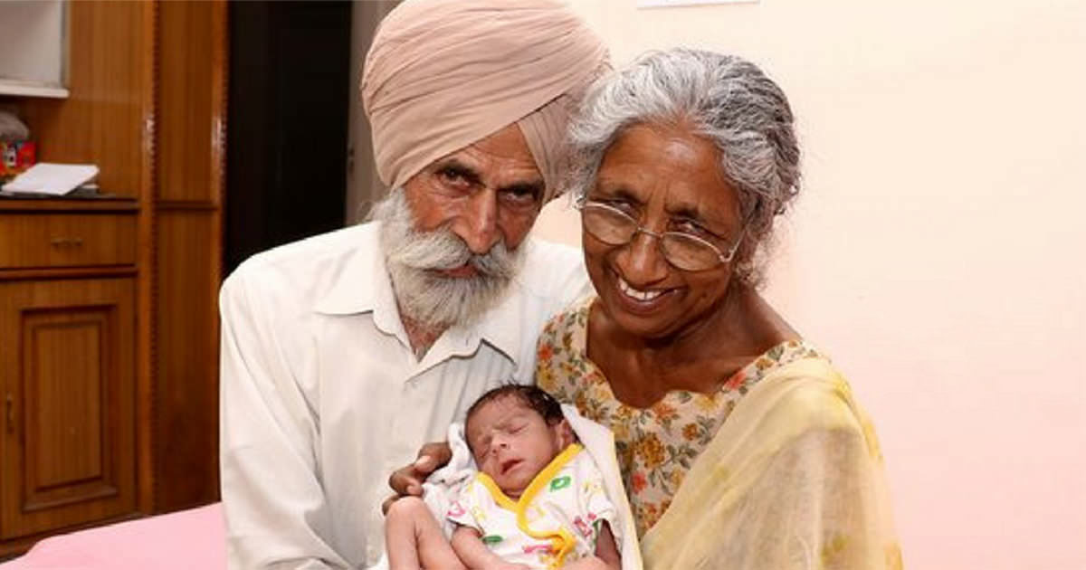 72-year-old Daljinder gets pregnant for first time – watch how the