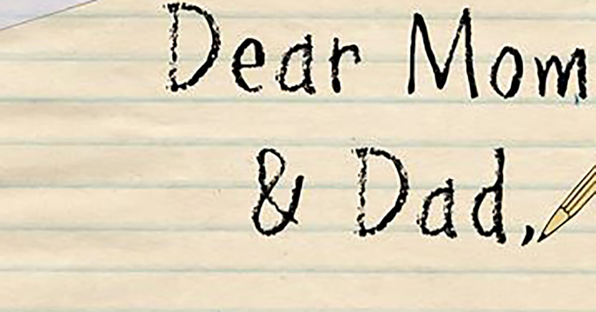 Dad finds 'I'm leaving home' letter from teenage daughter