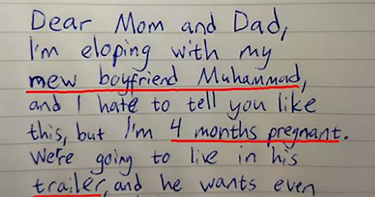 Dad Finds I M Leaving Home Letter From Teenage Daughter Heart