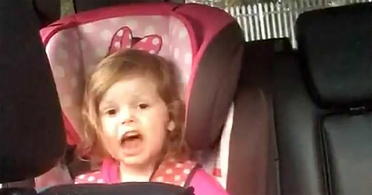 Toddler sings Queen's Bohemian Rhapsody after learning the words in