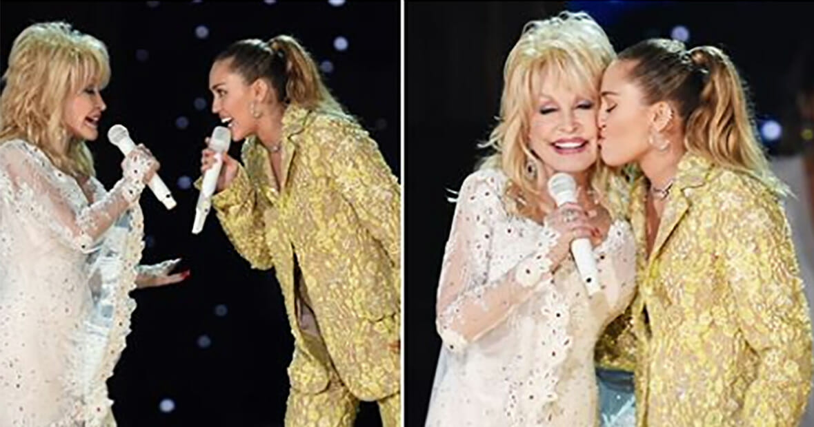 Dolly Parton Wows Fans With Duet Alongside Miley Cyrus