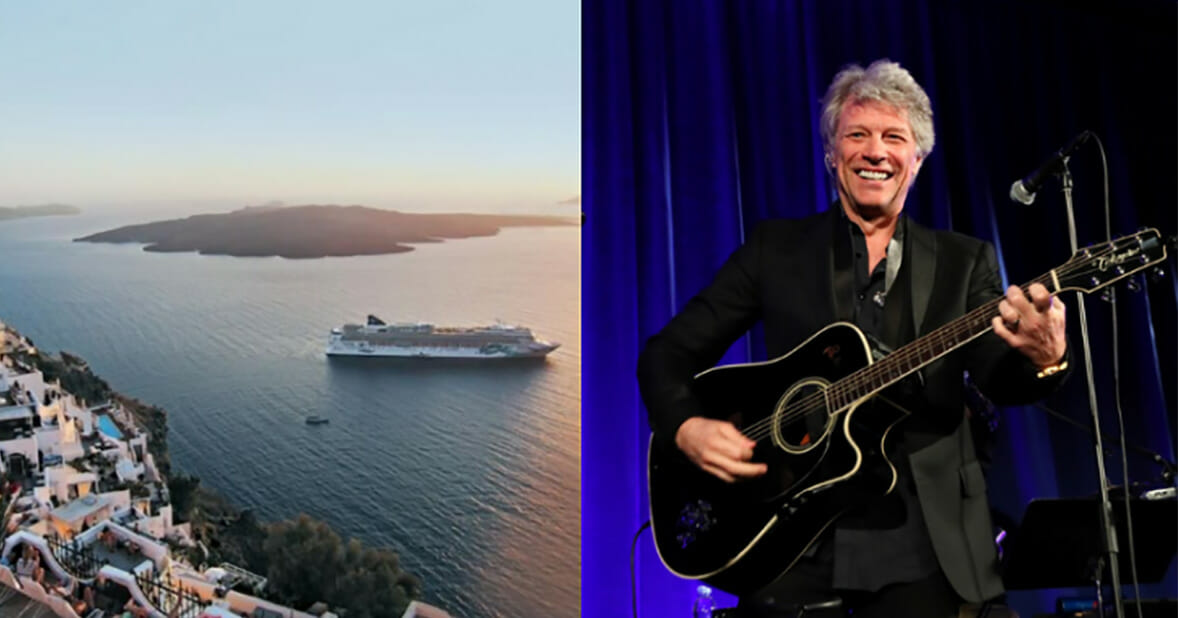 Jon Bon Jovi fans can now take a cruise with the rock legend